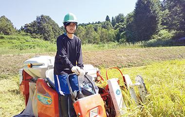 えちご上越農業協同組合(JAえちご上越) デビュー Debut! 上越 就職情報 高校生 収穫した米の名は「新米の新米」