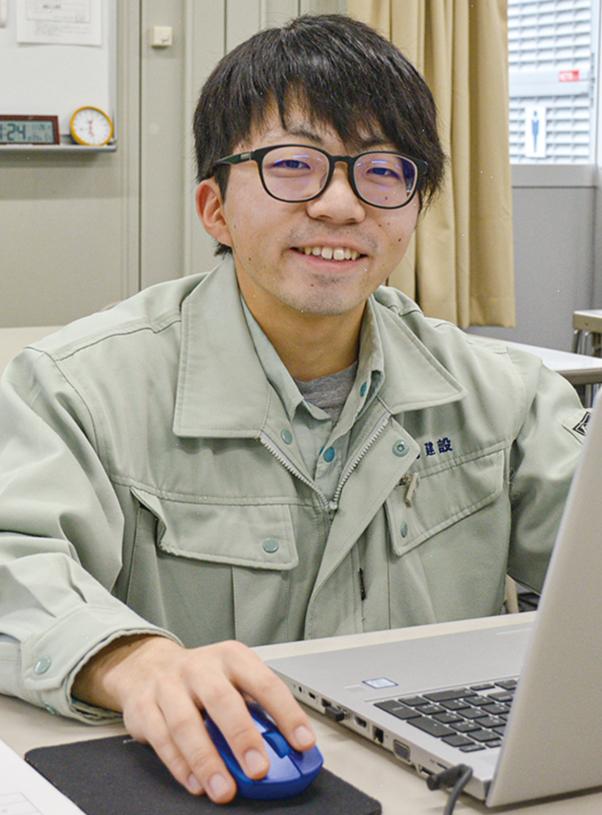 株式会社 谷村建設 上越 就職情報 デビュー Debut! 社員1