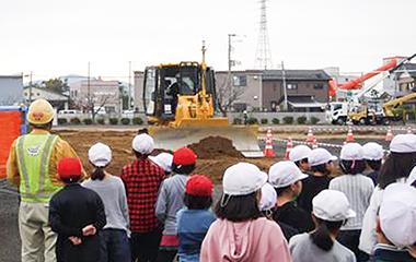 株式会社 植木組 デビュー Debut! 上越 就職情報 高校生 担い手への伝承